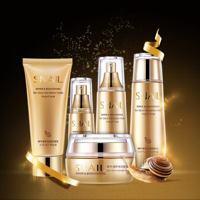 Gold snail facial cream