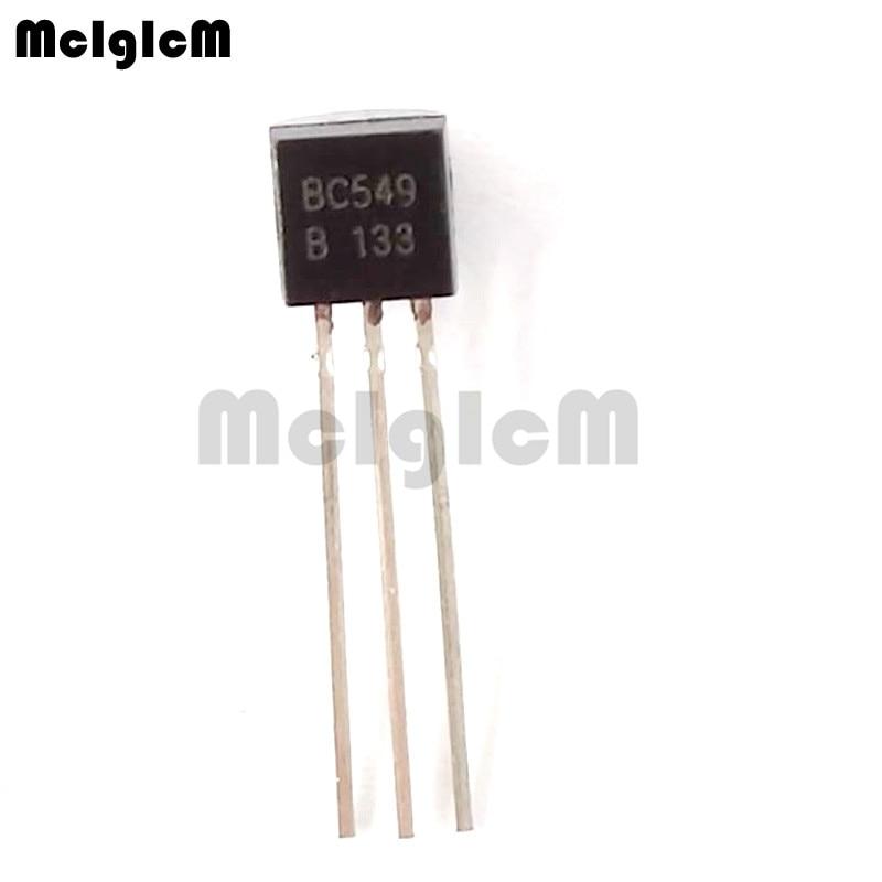 MCIGICM 5000pcs BC549 in line triode transistor TO 92 0 1A 30V NPN