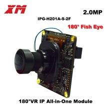 XM VR 180 degree panoramic module ip camera Hi3516C V200 Onvif protocol camera module cloud function P2P Original Authentic