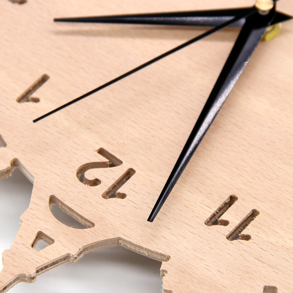 Medium Of Unique Wooden Wall Clocks