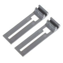 2Pcs W10195839 Dishwasher Rack Adjuster Replacement Part for Whirlpool Replaces WPW10195839 PS11750092