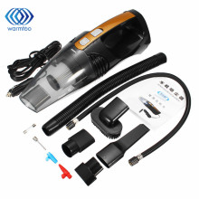 12V 100W 4 in 1 Multifunctional Wet Dry Car Vacuum Cleaner Air Pump Inflatable Lighting Function Tire Pressure Detection(China)
