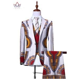 (Jacket+Vest+Pants)Blazers for Men 3 Piece Slim Fit Cowboy Wedding Men Suit Retro Gentleman Mens' African Clothing 6XL WYN230