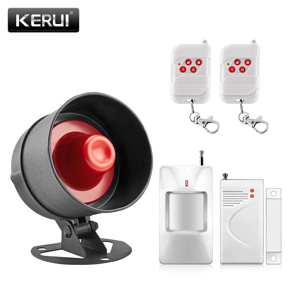 Wireless Kerui Home Siren Horn Alarm System Security