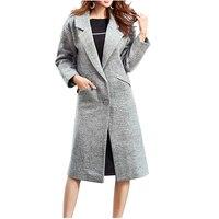 NYMPH 2017 New Luxury Brand Winter Women Thicken Warm Woolen Coat Office Fashion Female Slim Wool
