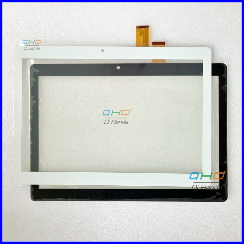 ZJ-10036A JZ Black or White New Touch Screen Digitizer Sensor Replacement for 10.1-inch Tablet PC Free Shipping new 7 inch tablet pc capacitive touch screen digitizer panel zj 70128b jz 30pin cable glass sensor replacement free shipping