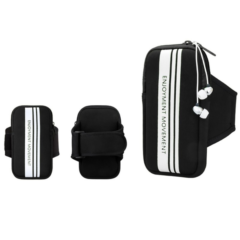 Outdoor Multi Function Sports Jogging Bag Gym Phone Holder Bags