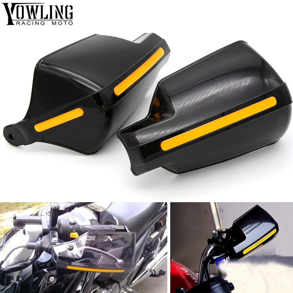 Motorcycle wind shield Brake lever hand guard For Kawasaki VERSYS 1000 VULCAN/S 650cc Z800 Z 1000SX with Hollow Handle bar