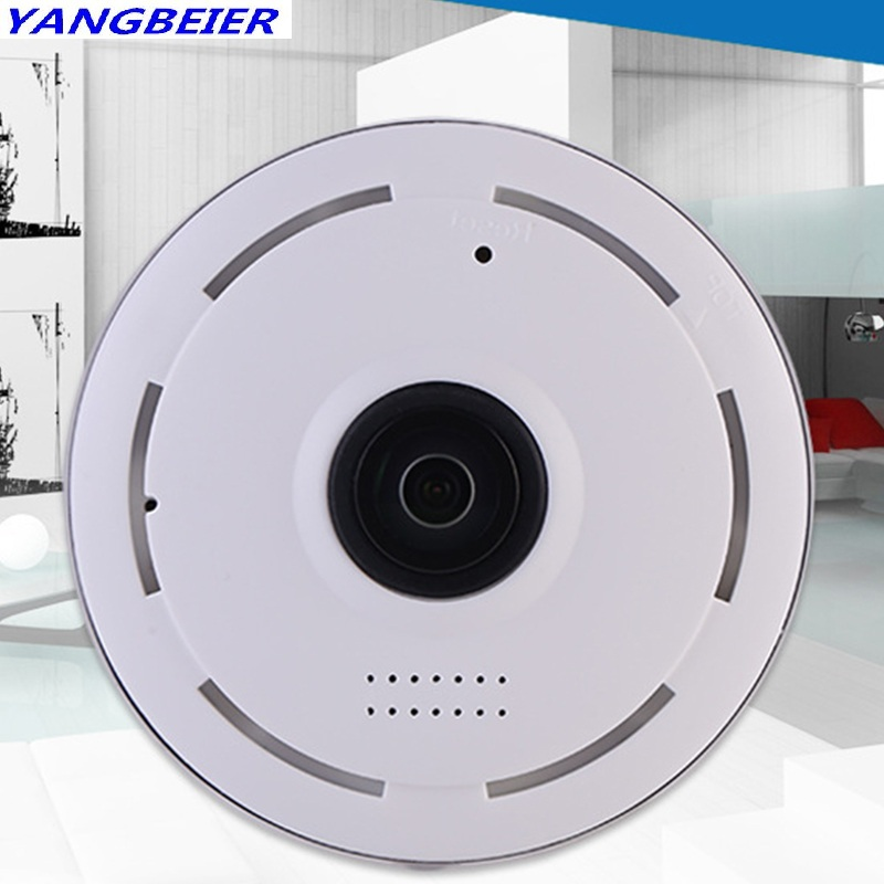 Ybr HD 3D 1.3MP Smart Cctv Ip Camera 960P Panoramic Wireless Fisheye VR Camera Wifi P2P Wi-fi Home Cctv Security Camera Cheap vr360 panoramic camera wi fi remote control sports action camera