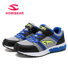 HOBIBEAR Boys Casual Shoes For Kids Sneakers Sport Children Shoes Spring Autumn Running Trainer For School