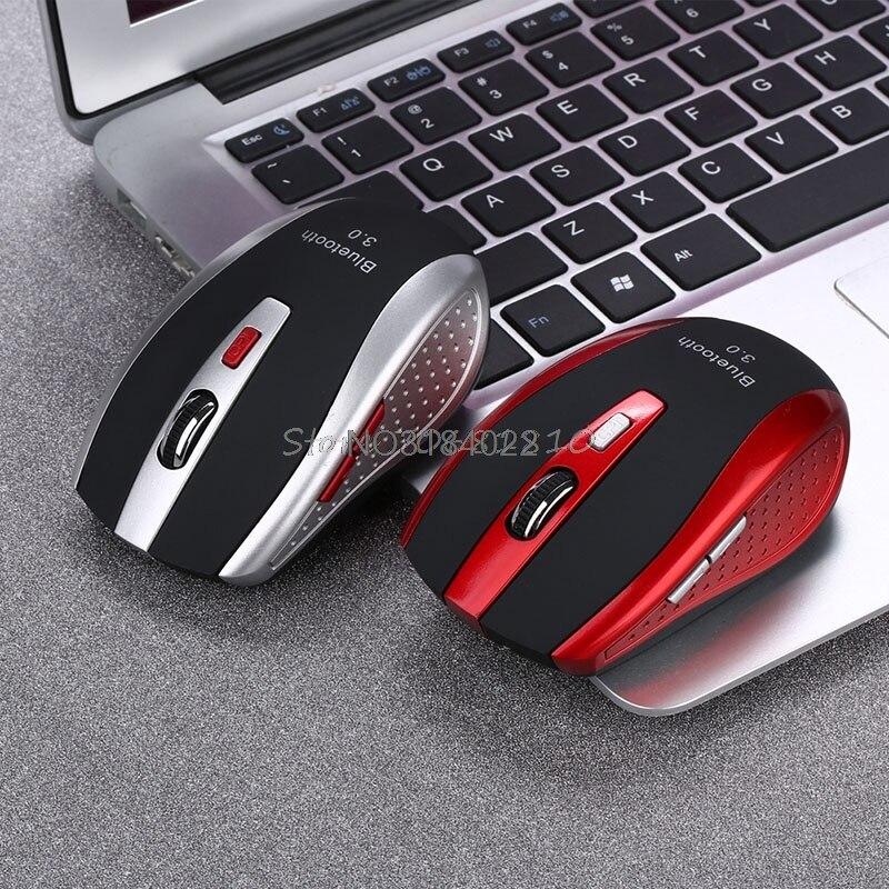 3.0 Беспроводная оптическая мышь Bluetooth 1600 точек/дюйм игровых мышей для ноутбука