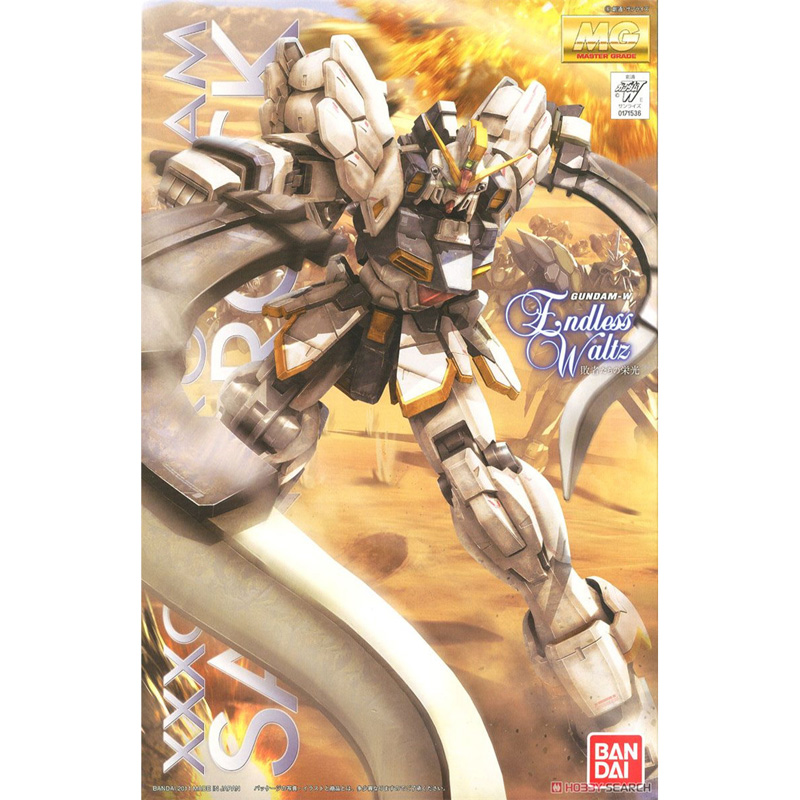 Image 2 - BANDAI Model MG 1/100 New Mobile Report Gundam Wing EW Sandrock Gundam Effects Action Figure Model ModificationAction & Toy Figures   -