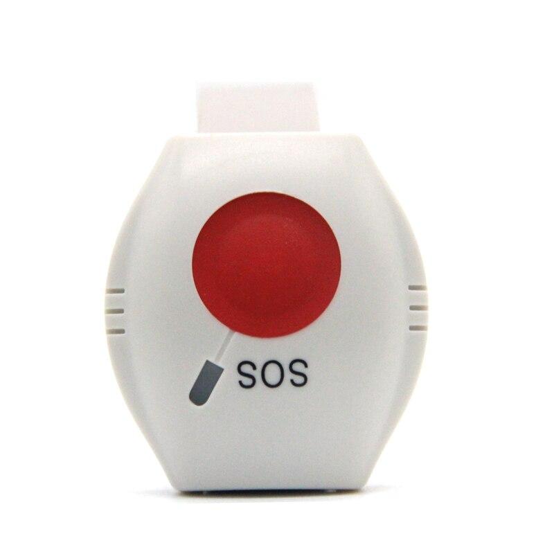 Güvenlik ve Koruma'ten Alarm Sistemi Kitleri'de Su geçirmez Acil Düğme 433.92 MHz GSM SMS SOS Düğmesi Panik Butonu Acil bileklik Sinyal Göndermek kadar Alarm Paneli EM 70