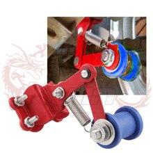 Универсальный мото rcycle натяжитель цепи регулятор ролик инструменты модифицированные аксессуары с кронштейном Алюминий для Мини Мото