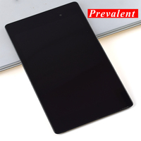 For ASUS Google Nexus 7 2nd Gen 2013 Me570 Black Touch Screen Digitizer Glass + LCD Display Panel Assembly Frame