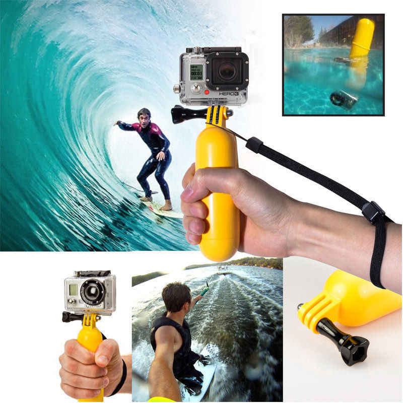 2018 GoPro Accessories Stick Handheld Monopod Bobber Floating Floaty Pole for SJ5000 SJ4000 Go Pro Hero 4 3+ 3 2 1 Camera