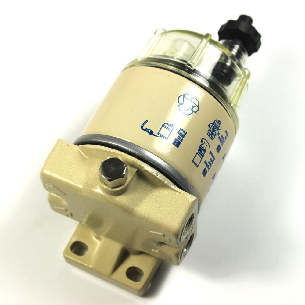 fuel separator filter housing