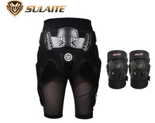 SULAITE Motorcycle Protection Riding Bicycle Armor Shorts Sport Knee Pads Motocross Kneepads