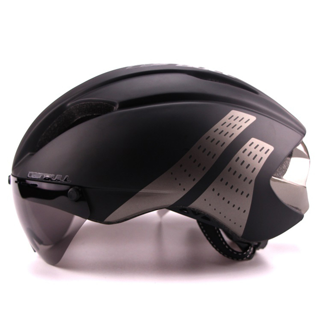 Cairbull 280g aero ultra-luz goggle tt estrada bicicleta capacete in-mold corrida ciclismo esportes segurança tempo-julgamento ciclismo capacete 3
