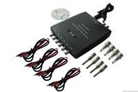 Hantek1008A 8CH PC USB Virtual Oscilloscope DAQ 8CH Generator 2 4MSa S 12bits 10mV Div To