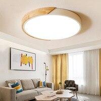 Lámpara LED moderna de techo para dormitorio regulable en anillo  lámpara de techo redondo  luminaria para casa  iluminación  accesorio de control remoto|Luces para el techo|   -