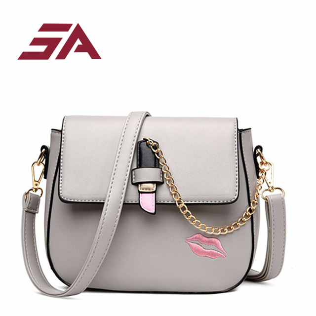 29b80824f2 Fashion Women PU Leather Messenger Bag Handbag Ladies Small Crossbody Bags  Women Famous Brands Designers Shoulder Bags Girls