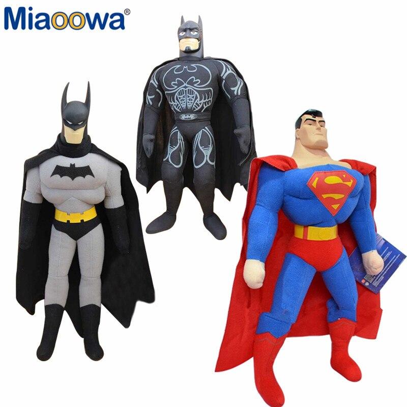 1pc 25cm Hot Sell  Toy Spiderman, Batman, Superman,High Quality,Plush Toy, Children's Christmas Gift Cartoon Figure Doll