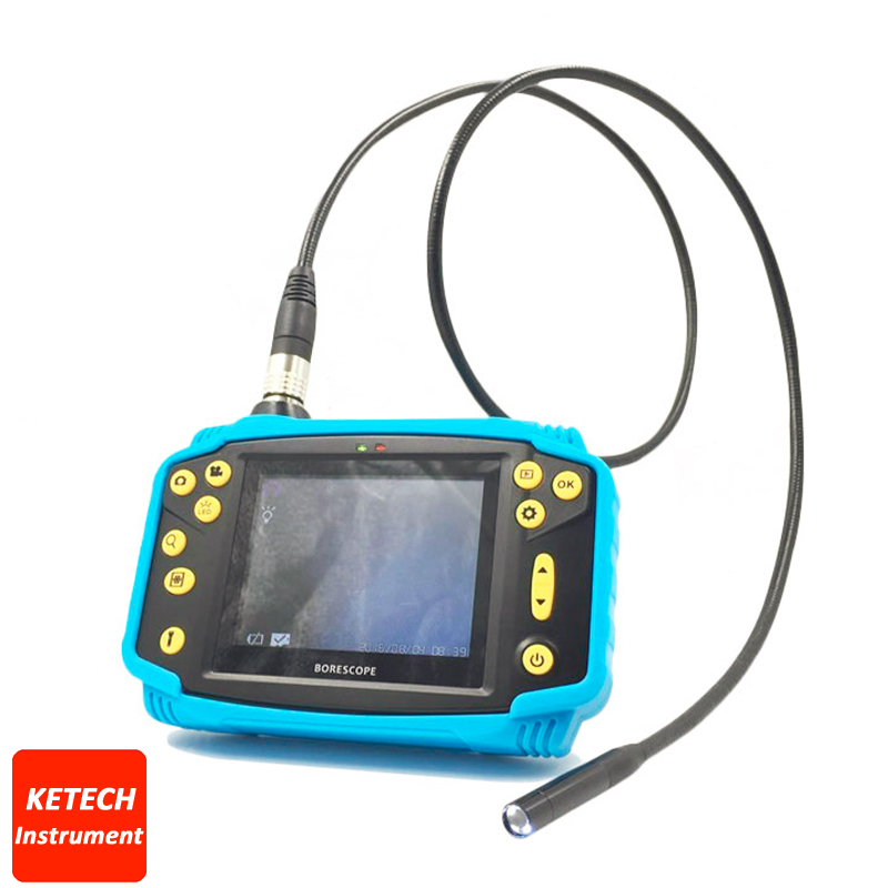 Waterproof Snake Camera Inspection Industrial VideoScope HOT Professional 3.5 LCD Car Diagnostic Tool Video Endoscope Borescope hot selling portable woman infrared mammary diagnostic for women self inspection