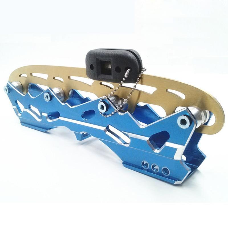 Катания на коньках лезвие точилка Скейт Точилка ручная точилка алмазный материал заточка инструмент для заточки коньков