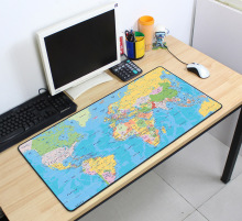 Mass pattern mousepads Gaming mousepad world map 700x400x2mm DIY XL Large mouse pad gamer with edge locking office desk mats