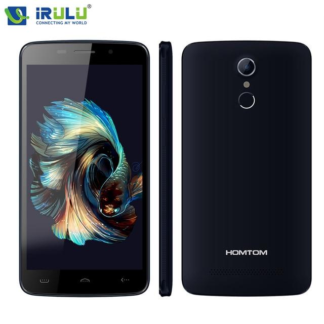 "Original homtom mtk6737 ht17 pro 4g lte smartphone android 6.0 quad core 2 gb + 16 gb 5mp 13mp identificación de huellas dactilares 5.5 ""HD Teléfono Móvil"