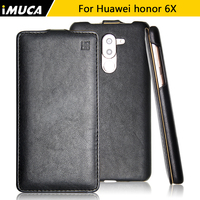 For Huawei Honor 6x Case Huawei Honor 6x Cover Luxury Flip Leather Case For Huawei Honor