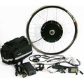 LCD + Freno de Disco A Prueba de agua 1000 W Kit de Bicicleta Eléctrica E Moto