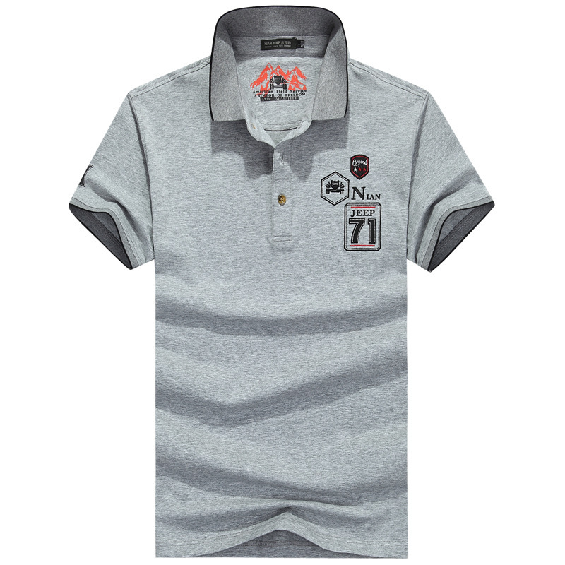 NIANJEEP High Quality Brand font b Men b font font b Polo b font shirt solid