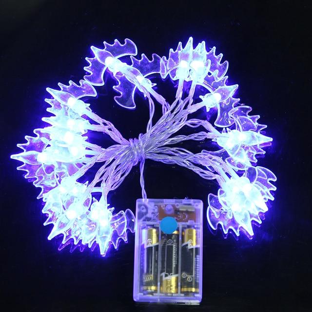 20pcs Led Bat Lights Decoration Fashion Battery Operated Fairy String