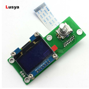 Low Cost 1.3inch OLED Display Control Panel For ES9038 Q2M I2S DSD Fiber Coaxial Input Decoder Board DAC A1-012