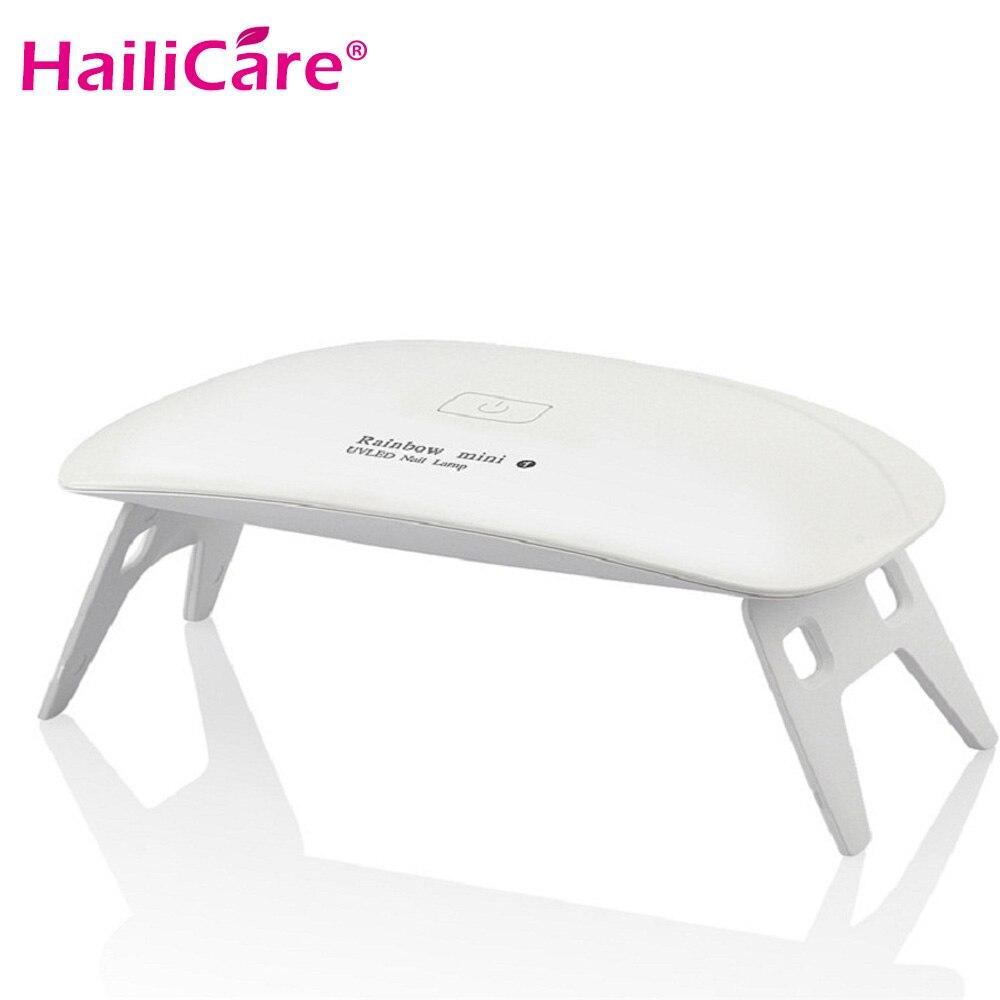Mini UV Lamps Nail Dryer LED Nail Polish Gel Curing Machine Portable Manicure Fingernail Toenail Manicure Nail Art Tool Device недорго, оригинальная цена
