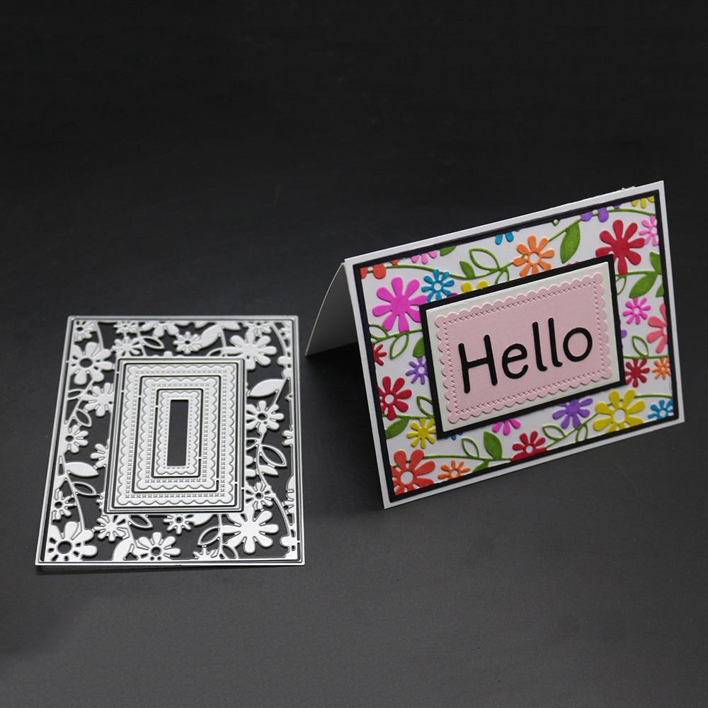 10.1x13.3cm Flower Metal Craft Cutting Dies Stencils For DIY Scrapbooking Photo Album Paper Card Decorative Craft Dies Cut