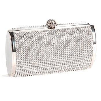 5b34da46f884 TEXU/Diamond Cluthes длинные руки мешок со стразами вечерняя сумочка; BS010  цепь сумка вечерние банкетные вечерние клатчи