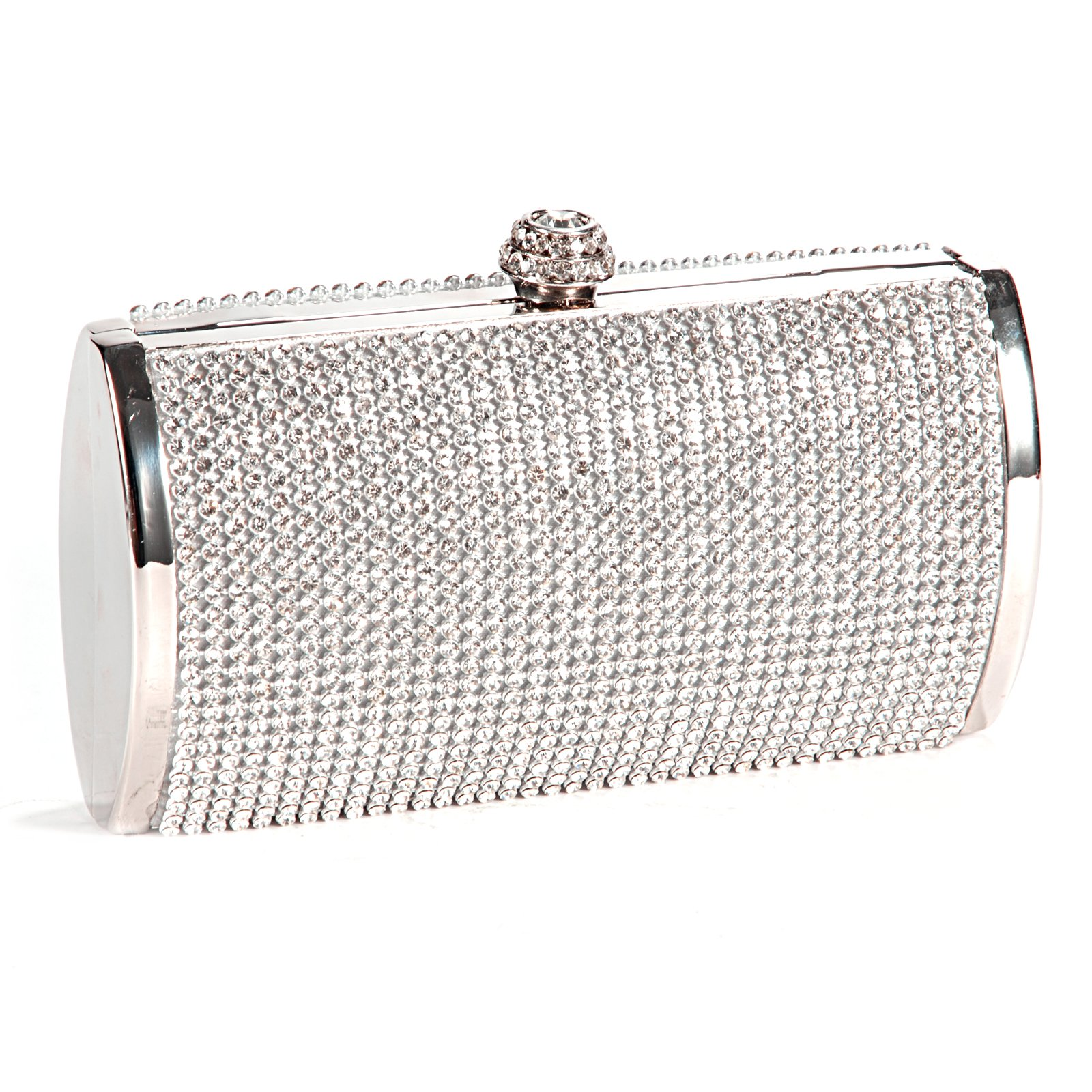 TEXU Diamond Cluthes Long hand Bag Ladies Rhinestone Evening Bag Shoulder Chain Bag Party Banquet Evening Clutch Bags