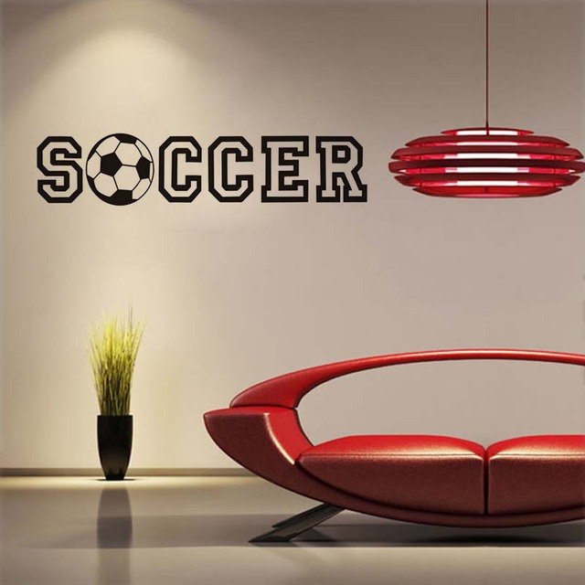 Aliexpresscom Buy Soccer Wall Stickers Football Quote For Kids - Vinyl stickers designaliexpresscombuy eyes new design vinyl wall stickers eye wall