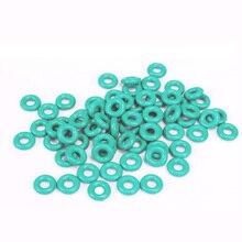 1 шт. 6 мм диаметр проволоки зеленый фторкаучук кольцо Водонепроницаемая изоляционная лента наружный диаметр 275 мм~ 310 мм