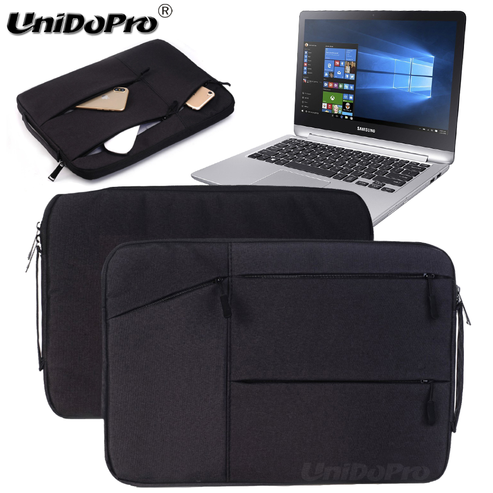 Unidopro Classic Notebook Sleeve Briefcase for Samsung XE510C24-K01US Chromebook Pro Laptop Mallette Handbag Carrying Bag Cover