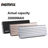 Remax 100 Real Standard Mobile Power Bank 20000mAh Mobile Backup Powerbank 20000bateria Externa Universal Charger For