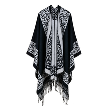 2019 Womens Outwear Winter Scarves Autumn Cashmere Ponchos Blanket Ladies Knit Shawl Cape Cashmere Scarf Poncho Lady Pashmina