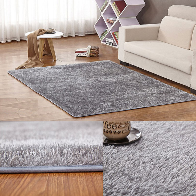 120cm x 200cm korea style anti skid home carpet plush. Black Bedroom Furniture Sets. Home Design Ideas