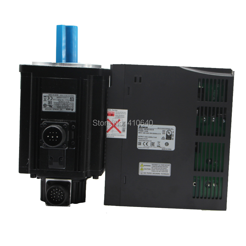Genuine Delta AC Servo Motor 3 KW ECMA-F11830SS with Brake and Delta AC Servo Motor Drive ASD-B2-3023-B genuine delta 400 w servo motor ecma c20604rs and servo drive asd b2 0421 b with full set of cable better quality