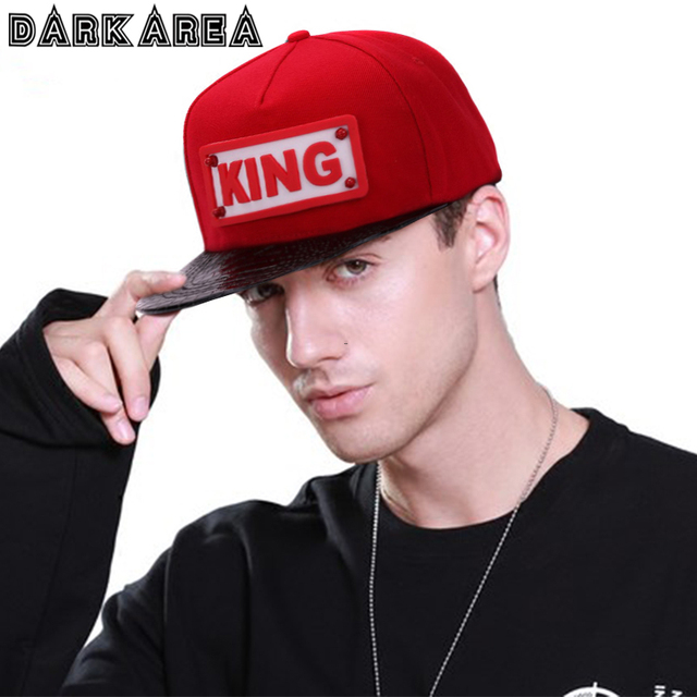 DARKAREA 2018 Fashion Cool King Letter Baseball Cap Men Summer Women Hip  Hop Caps Stylish Outdoor Sport Adjustable Couple Hat 3d0b088b7a1b