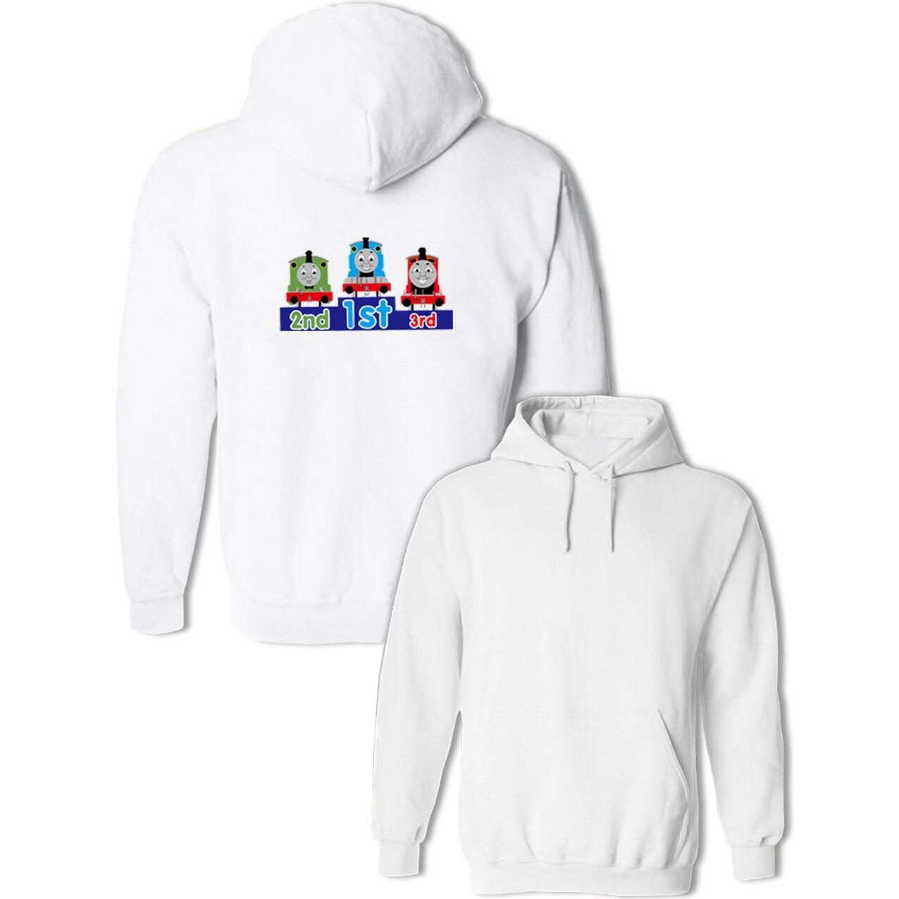 Thomas And His Friends Funny Cartoon Hoodie Men's Women's Girls Boys Sweatshirt Spring Autumn Jackets Hip Hop Cotton Streetwear