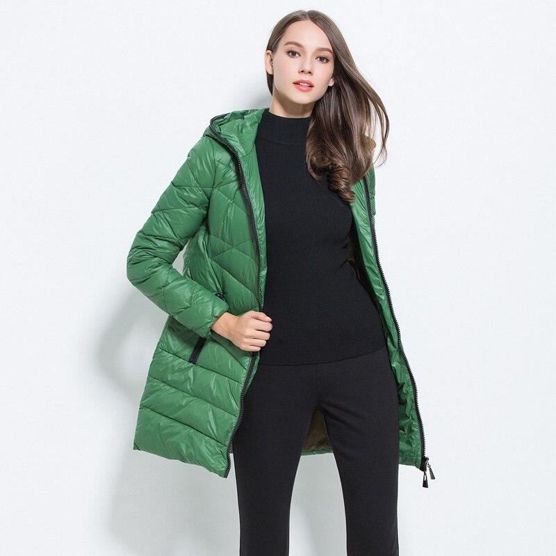 new concept 1eb21 9a28c US $24.99 |Wintermantel frauen 2017 Neue Mode Einfarbig Hoodies Jacke  Schlank Parka warme Leichte parka Damen Mantel in Wintermantel frauen 2017  Neue ...